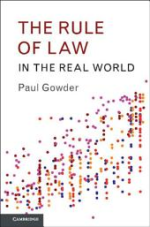 The Rule of Law in the Real World