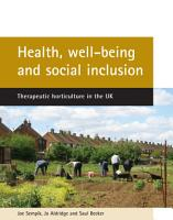 Health  Well being and Social Inclusion PDF