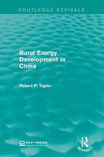 Rural Energy Development in China