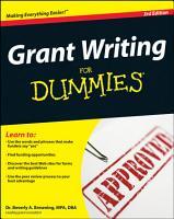 Grant Writing For Dummies PDF