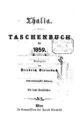 Thalia: Taschenbuch für d. Jahr .... 1859