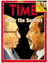 TIME Magazine Biography--Menachem Begin and Anwar Sadat