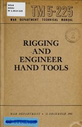 Rigging and Engineering Hand Tools PDF