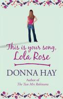 This is Your Song  Lola Rose PDF
