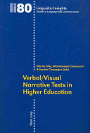 Verbal/visual Narrative Texts in Higher Education