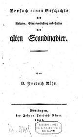 Versuch einer Geschichte der Religion, Staatsverfassung und Cultur des alten Scandinavier