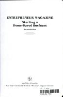 Entrepreneur Magazine Starting a Home Based Business PDF