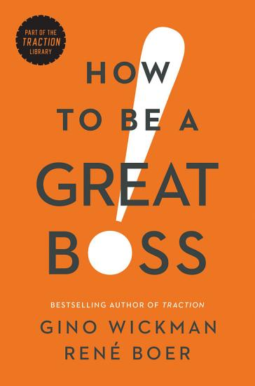 How to Be a Great Boss PDF