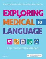 Exploring Medical Language   E Book PDF