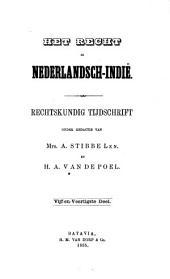 Indisch tijdschrift van het recht: orgaan der Nederlandsch-Indische juristen-vereeniging, Volume 45