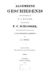 Algemeene geschiedenis: Volumes 11-12