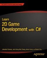 Learn 2D Game Development with C  PDF