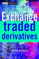 Exchange Traded Derivatives PDF