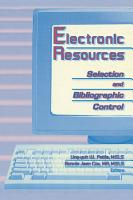 Electronic Resources PDF