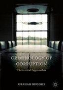 Criminology of Corruption PDF