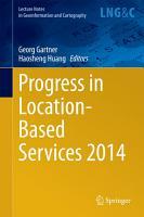 Progress in Location Based Services 2014 PDF