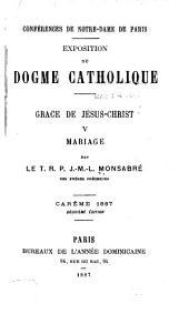 Grace de Jesus-Christ: Volume5
