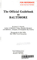 The Official Guidebook to Baltimore