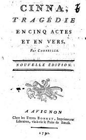Cinna, tragédie en cinq actes et en vers par Corneille