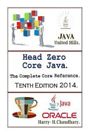 Head Zero Core Java PDF