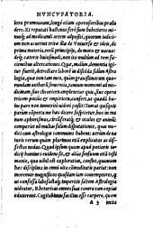 In Claudii Ptolemaei centum Aphorismos Commentarius