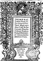 In Philippum Melanchthonem Luteranae hereseos defensorem Oratio