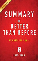 SUMMARY OF BETTER THAN BEFORE PDF