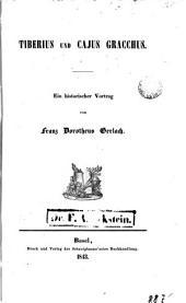 Tiberius und Cajus Gracchus: Ein historischer Vortrag