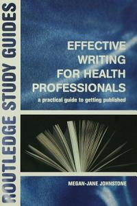 Effective Writing for Health Professionals PDF