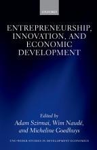Entrepreneurship  Innovation  and Economic Development PDF