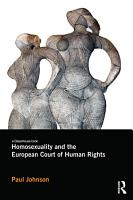 Homosexuality and the European Court of Human Rights PDF