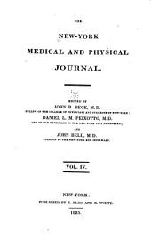 The New-York Medical and Physical Journal: Volume 4