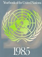 Yearbook of the United Nations  39  1985  1989  PDF
