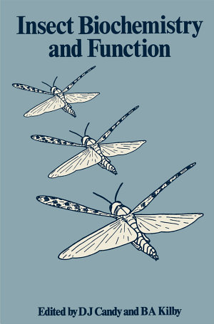 Insect Biochemistry and Function