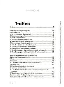 Contribuci  n a la equiparaci  n de la ciudadan  a por medio de la construcci  n colectiva de mecanismos de exigibilidad de los derechos humanos de los pueblos ind  genas PDF