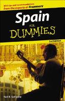 Spain For Dummies PDF