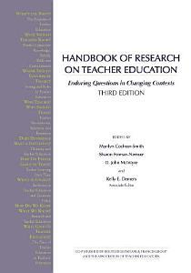 Handbook of Research on Teacher Education Book