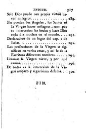 Grandezas y Excelencias de la Vírgen. [A poem.]