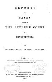 Reports of cases adjudged in the Supreme court of Pennsylvania: Volume 38