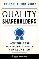Quality Shareholders PDF