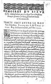 Mémoires dv sievr Richer, ambassadeur pour les roys tres-chrestiens François premier & Henry second en Suède & Dannemarch