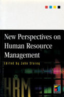 New Perspectives on Human Resource Management Book