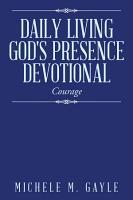 Daily Living God s Presence  Devotional PDF