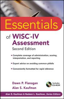 Essentials of WISC IV Assessment Book