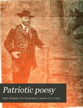Patriotic Poesy: Dramatic Recitations