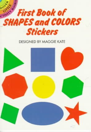 First Book of Shapes and Colors Stickers