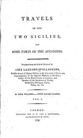 Travels in the Two Sicilies: And Some Parts of the Apennines, Volume 1