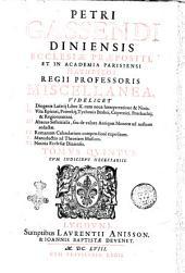 Petri Gassendi ... Opera omnia in sex tomos diuisa, quorum seriem pagina praefationes proxime sequens continet. Hactenus edita auctor ante obitum recensuit, auxit, illustrauit. Posthuma vero totius naturae explicationem complectentia, in lucem nunc primum prodeunt, ex bibliotheca illustris viri Henrici Ludouici Haberti Mon-Morij ... Tomus primus [-sextus] ..: Petri Gassendi ... Miscellanea, videlicet 1. Diogenis Laertij liber 10. cum noua interpretatione & notis. 2. Vita Epicuri, Peireskij, Tychonis Brahei, Copernici, Peurbachij, & Regiomontani. 3. Abacus sestertialis ... Tomus quintus. Cum indicibus necessarijs, Volume 5