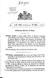 English Patents of Inventions  Specifications PDF