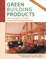 Green Building Products  3rd Edition PDF